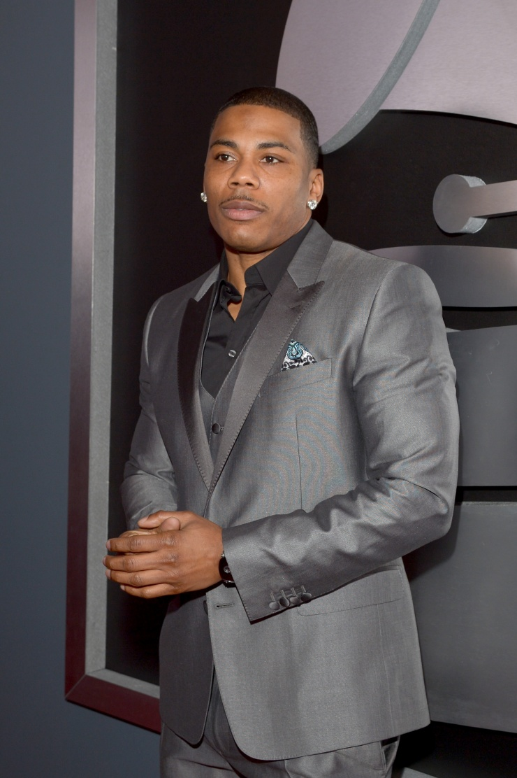 161389876 nelly lc Grammy Awards 2013: Red Carpet Arrivals