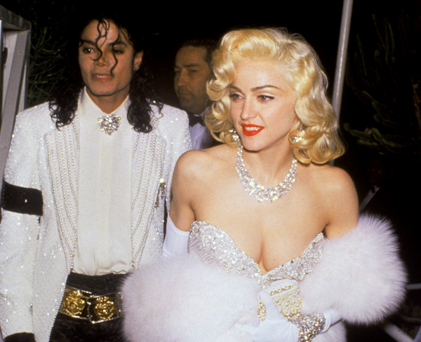 26 michaelmadonna Retro Rewind:  Madonna Delivers Best Vocal Performance Yet At 1991 Academy Awards
