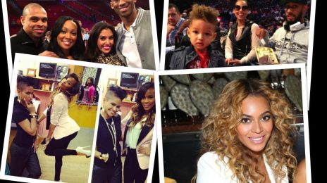 Hot Shots:  Beyonce, Alicia Keys, Letoya Luckett, Monica, and More Make Rounds For NBA 'All Star' Weekend