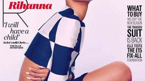 Behind the Scenes: Rihanna's 'Elle UK' Cover