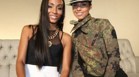 Hot Shots:  Alicia Keys Shoots 'Brand New Me (Remix)' Video With Jada Pinkett-Smith, A$AP Rocky