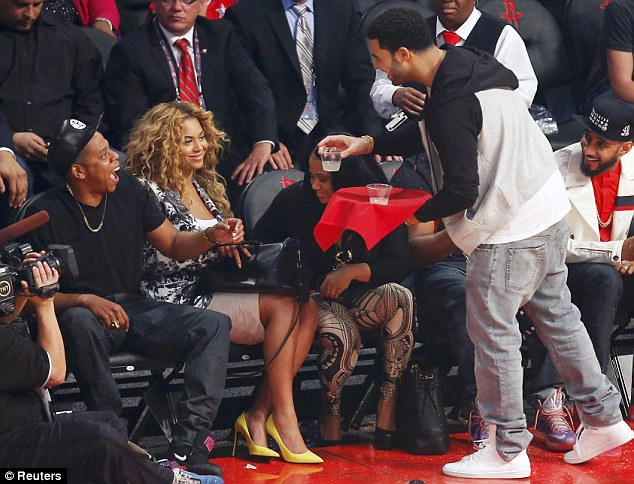 Hot Shots: Beyonce And Alicia Keys Hit NBA  All Star Game Following Life Is But A Dream Airing