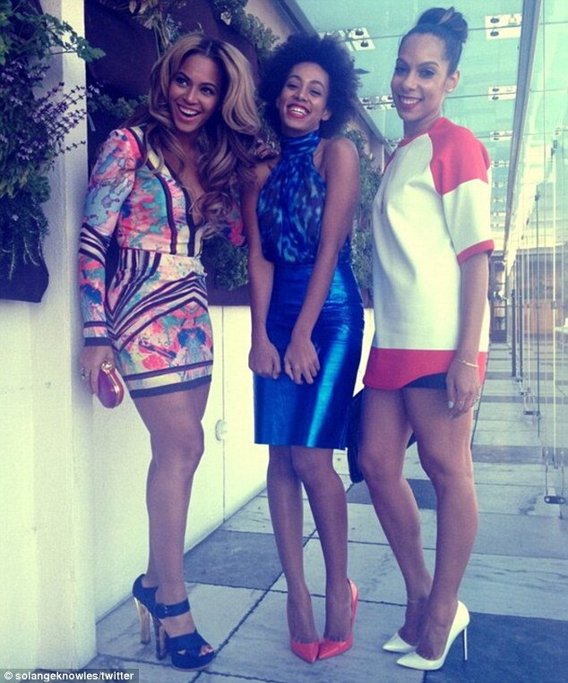 Hot Shots: Beyonce & Rihanna Party At Roc Nation Brunch