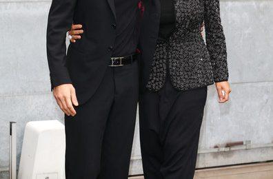 Hot Shots: Janet Jackson-Al Mana Poses With Husband At Armani Show