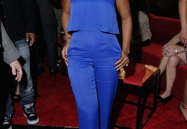 Hot Shots: Kelly Rowland Beams In Blue At ESPN Super Bowl Bash