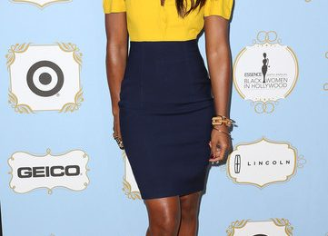 Kelly Rowland Naomi Campbell Rub Shoulders At 'Black Women In Hollywood' Luncheon