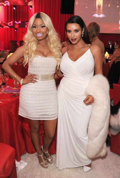 Nicki+Minaj+21st+Annual+Elton+John+AIDS+Foundation+23jBYm28GPBl Hot Shots: Nicki Minaj Parties With Kim Kardashian & Britney Spears At Elton John Oscar Bash