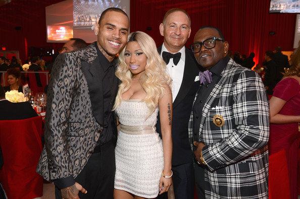 Nicki+Minaj+21st+Annual+Elton+John+AIDS+Foundation+Ci1HSwNVY9Yl Hot Shots: Nicki Minaj Parties With Kim Kardashian & Britney Spears At Elton John Oscar Bash