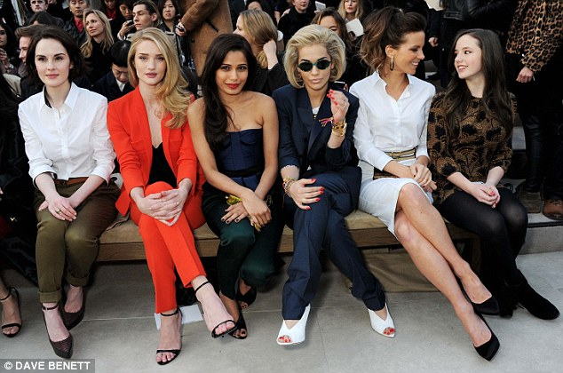 Hot Shots: Rita Ora Shines Bright At London Fashion Week
