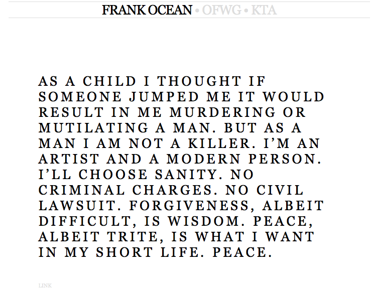 Screen shot 2013 02 02 at 4.40.04 PM Read:  Frank Ocean Forgives Chris Brown, Decides Against Pressing Charges For Assault