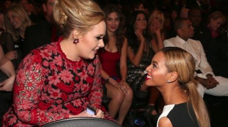 Adele Continues To Praise Beyonce In Backstage Grammy Speech