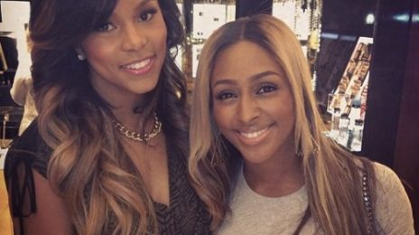 Hot Shot: Alexandra Burke & LeToya Luckett Pose It Up In Houston