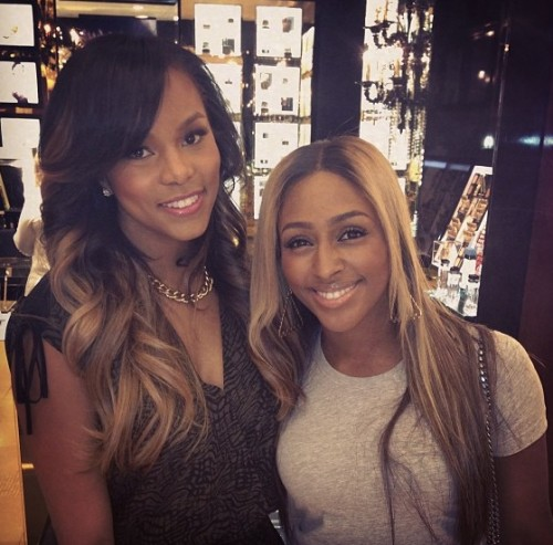 alexandra letoya e1361360129105 Hot Shot: Alexandra Burke & LeToya Luckett Pose It Up In Houston