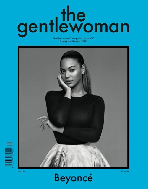 beyonce gentle woman Beyonce Covers The Gentlewoman