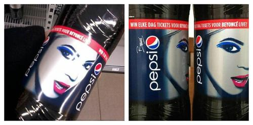 beyonce pepsi 2014 Hot Shot: New Beyonce Pepsi Promo Unwrapped