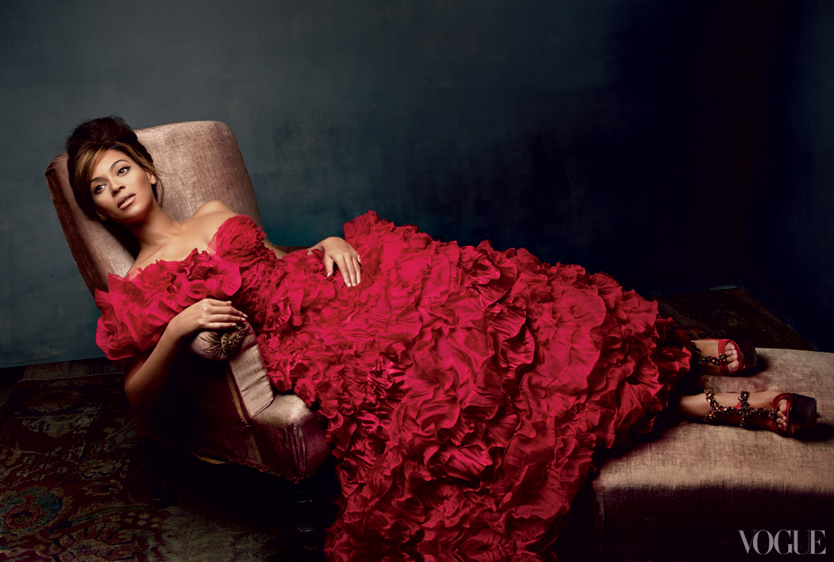 beyonce vogue 2013 1 Hot Shots: Beyonces Full Vogue Shoot Unveiled