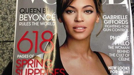 Must See: Beyonce Beams For New 'Vogue' Cover