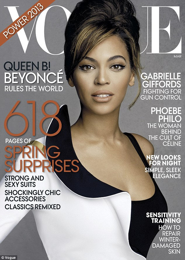 beyonce vogue 2013 cover Hot Shots: Beyonces Full Vogue Shoot Unveiled