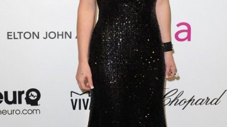 Brunette Bombshell: Britney Spears Debuts New Hair Color At Elton John Oscar Bash