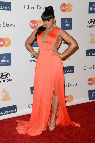 clive davis grammy 2013 ashanti Hot Shots: Stars Shine At Clive Davis Pre Grammy Gala 2013