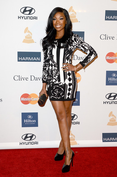 clive davis grammy 2013 brandy Hot Shots: Stars Shine At Clive Davis Pre Grammy Gala 2013