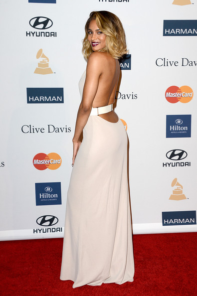 clive davis grammy 2013 ciara 2 Hot Shots: Stars Shine At Clive Davis Pre Grammy Gala 2013