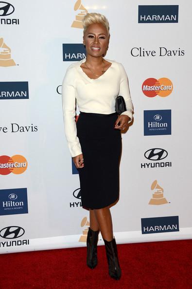 clive davis grammy 2013 emeli sande Hot Shots: Stars Shine At Clive Davis Pre Grammy Gala 2013