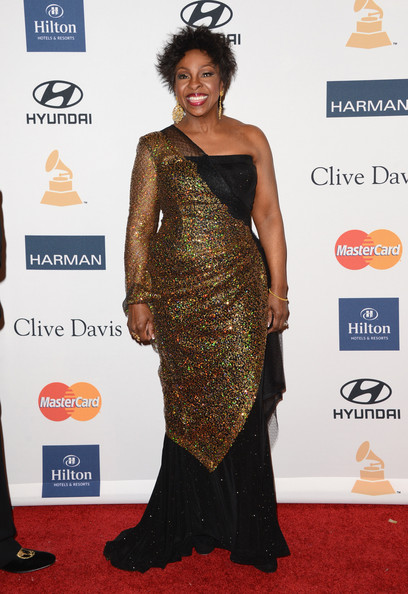 clive davis grammy 2013 gladis knight Hot Shots: Stars Shine At Clive Davis Pre Grammy Gala 2013