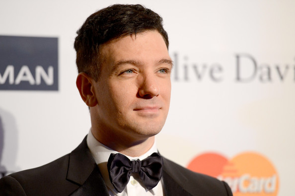 clive davis grammy 2013 jc chasez Hot Shots: Stars Shine At Clive Davis Pre Grammy Gala 2013