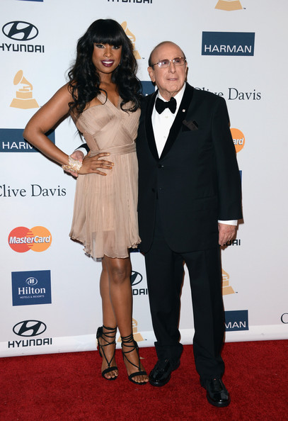 clive davis grammy 2013 jennifer hudson 2 Hot Shots: Stars Shine At Clive Davis Pre Grammy Gala 2013