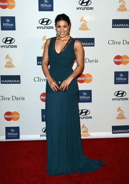 clive davis grammy 2013 jordin sparks Hot Shots: Stars Shine At Clive Davis Pre Grammy Gala 2013