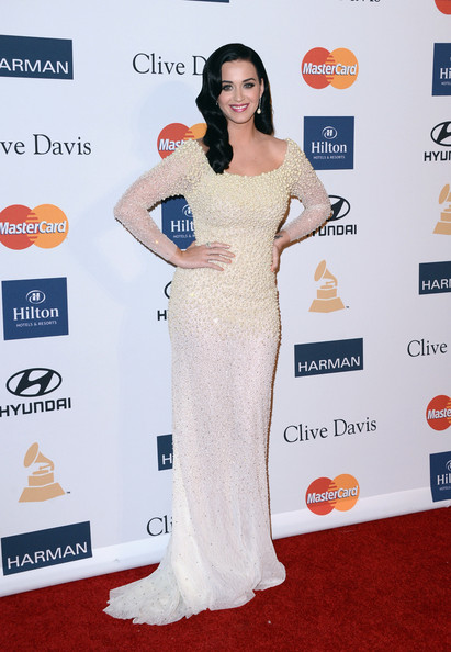clive davis grammy 2013 katy perry Hot Shots: Stars Shine At Clive Davis Pre Grammy Gala 2013