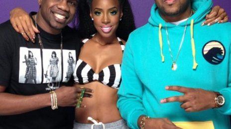 Hot Shots: Kelly Rowland Shoots 'Kisses Down Low' Video