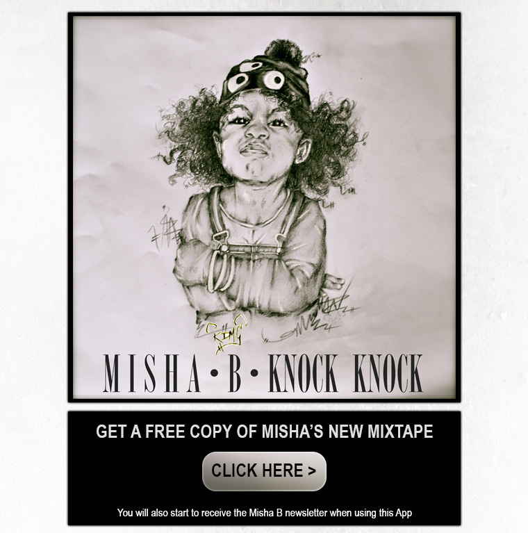 New Music: Misha B   Knock Knock