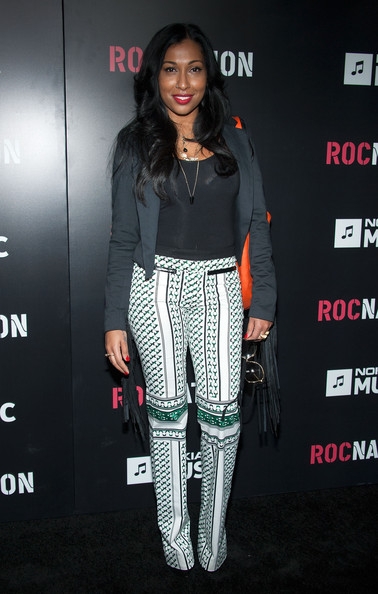 melanie fiona roc nation 2013 Hot Shots: Kelly Rowland & Kylie Minogue Stun At 'Roc Nation Pre Grammy Brunch'