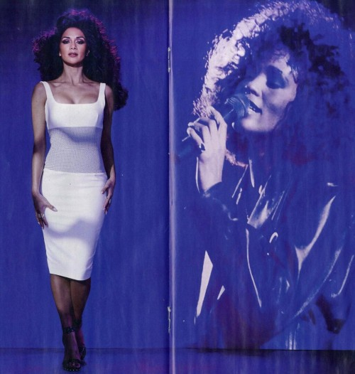 Hot Shot: Nicole Scherzinger Tributes Whitney Houston In E.S Shoot