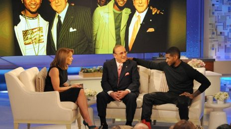 Clive Davis Visits 'Katie' With Usher, Responds To Kelly Clarkson Slam