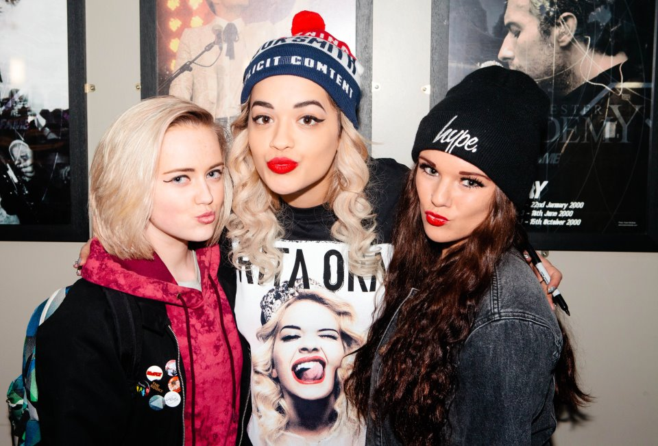 Hot Shots: Rita Ora Meets Rita Bots On Radioactive Tour