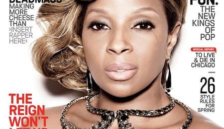 Mary J. Blige Weighs In On Rihanna, Drake, & the State of R&B Via 'Vibe' Magazine
