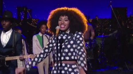 Watch: Solange Performs 'Don't Let Me Down' On 'Letterman'