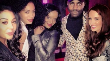 Hot Shot: Solange Catches Up With Mutya Keisha Siobhan At Topshop Launch