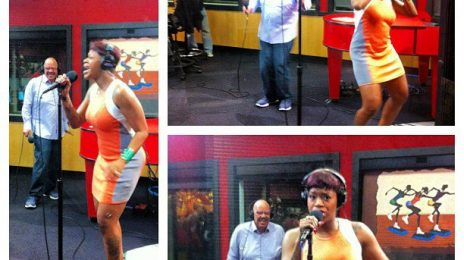 Watch:  Fantasia Lends Live Performance of 'Lose To Win' For Tom Joyner