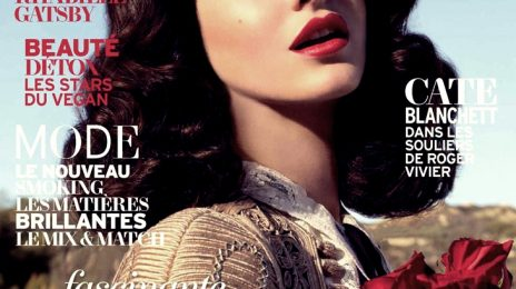 Hot Shots: Lana Del Rey Hits 'L'Officiel' For Classic Spread