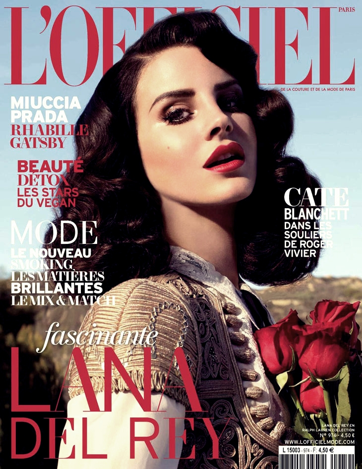 LANA DEY REY LOFFICIEL THAT GRAPE JUICE Hot Shots: Lana Del Rey Hits LOfficiel For Classic Spread