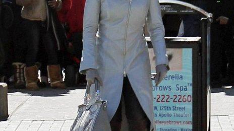 Hot Shots: Mary J.Blige Shoots 'Black Nativity' In NYC