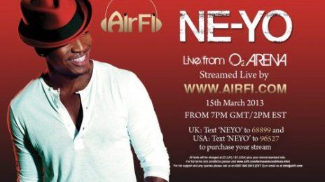 Sponsored: Stream Ne-Yo's London Concert Live!