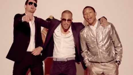 New Video:  Robin Thicke - Blurred Lines