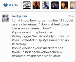 Screen Shot 2013 03 29 at 20.28.36 Bow Down: Rihanna Fires Shots At Beyonce?