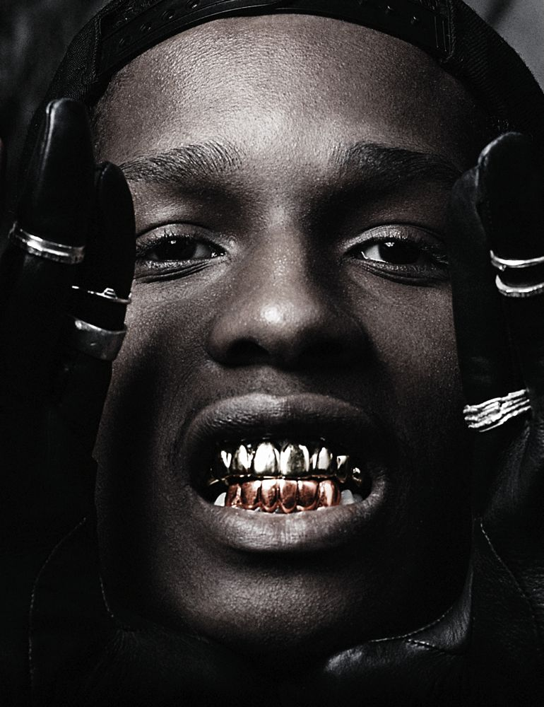 Pictures Of Aap Rocky Gold Teeth Wwwkidskunstinfo