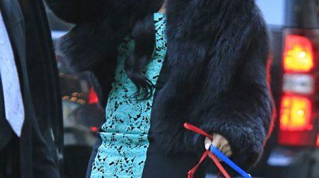Hot Shots: Ashanti Feels 'Blue' In NYC